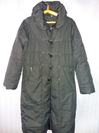 Тёплое демисезонное пальто