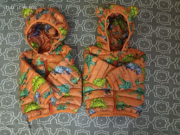 Куртка деми весна/осень на годик 74 80 см