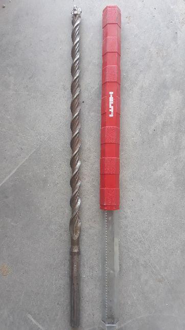 Wiertło Hilti TE-YX (SDS Max) Średnica 20mm Długość robocza 400mm