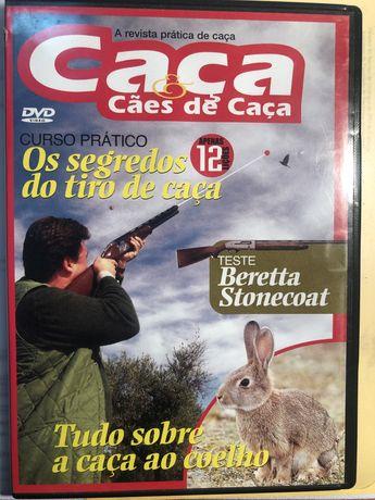26 dvd de caça e 2 de pesca, originais tudo sobre o tiro!
