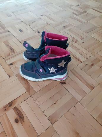Buty buciki zimowe dla dziewczynki