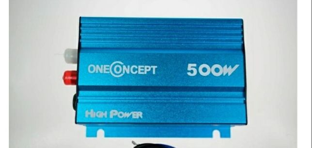 Wzmacniacz samochodowy Oneconcept 500W Nowy!