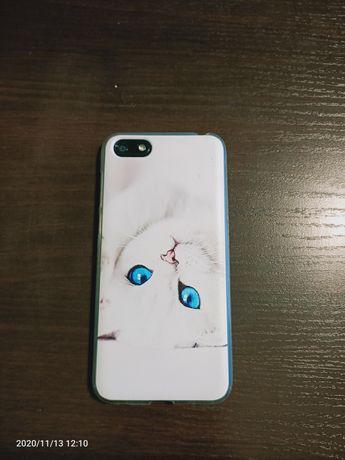 Huawei y5 2018 czarny etui case