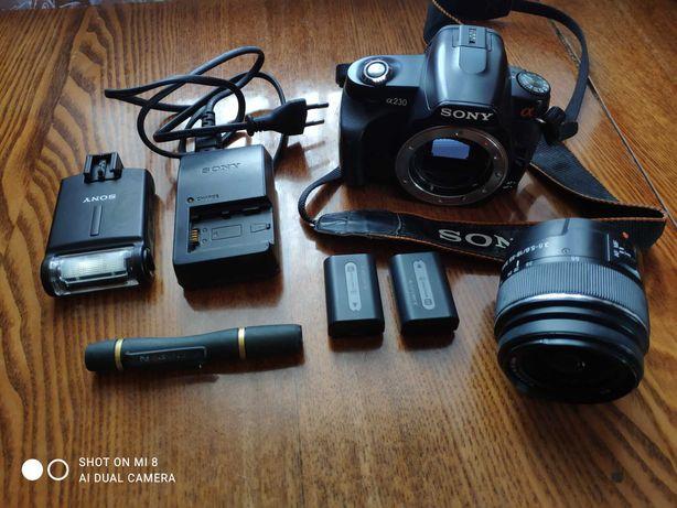Фотоаппарат SONY Alpha DSLR-230