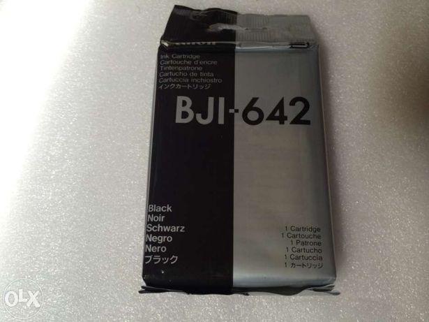 Canon bji-642 tinteiro bk original novo