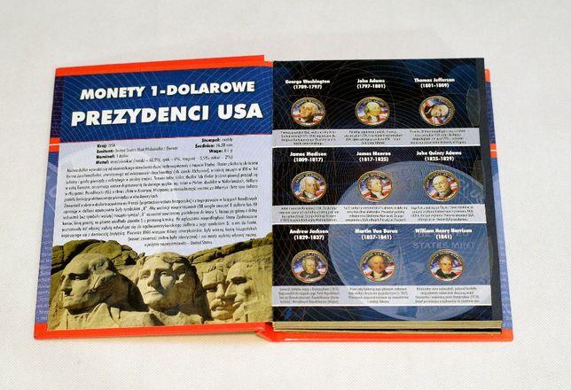 Numizmatyka Zestaw Prezydenci USA 41x1dollar obustronnie kolorowany