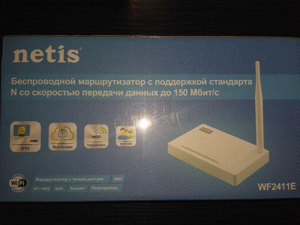 Новый WI-FI Роутер Netis WF2411E стандарта n 150