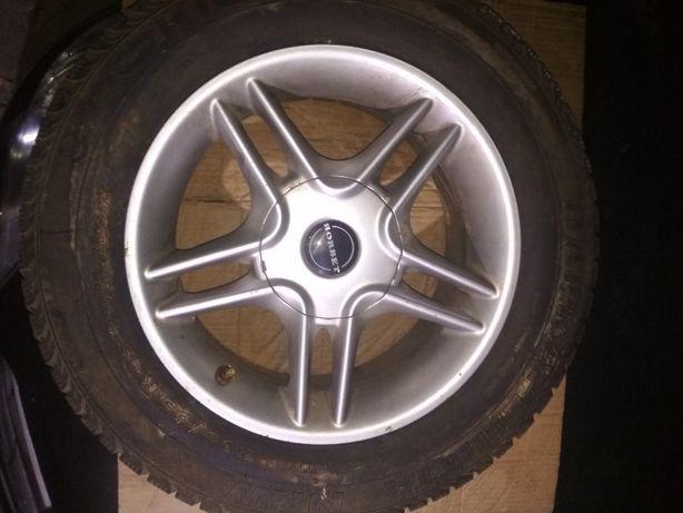 Продам шину покрышку колесо 205 65 15 Nokian Hakkapelitta NRW Borbet