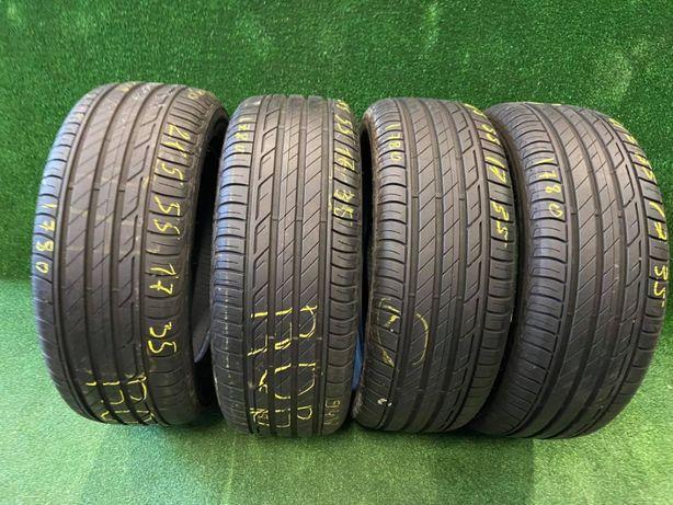 Шини літні 215х55х17 Bridgestone Turanza T001 4шт 7мм+ 2018 рік