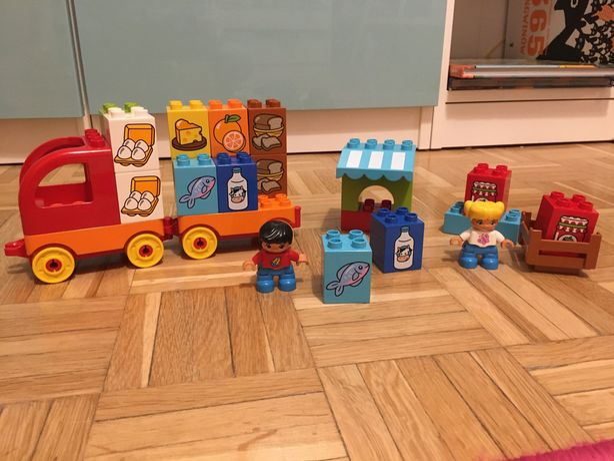 Duplo-moja pierwsza ciężarówka