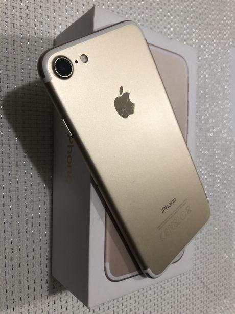 iPhone 7 GOLD 128 GB super stan- idealny!!!
