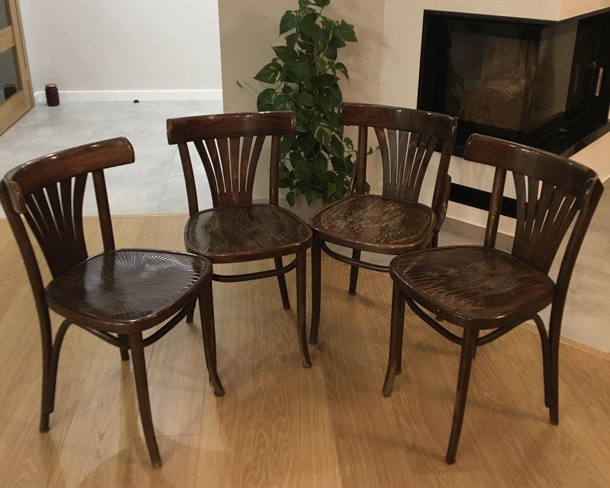 Krzesła gięte vintage 4 szt. Zgierz - image 1
