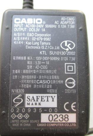 Сетевой адаптер блок питания Casio AD-C50G