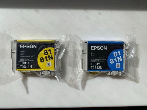 Чернила (оригинал в картриджах) для Epson Stylus Photo TX650