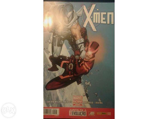 Os X-Men #8 marvel pt-pt