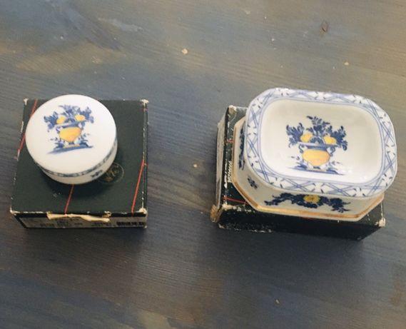 Cinzeiro e caixa regaleira Vista Alegre Viana