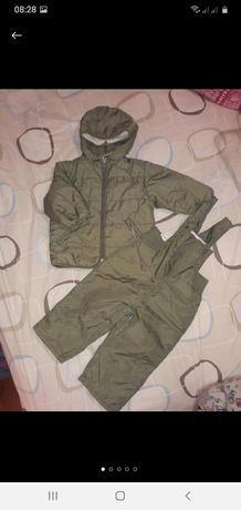Демикомбинезон ,костюм полукомбез+ куртка 86см