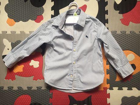 H&m koszula elegancka paski 98cm legi