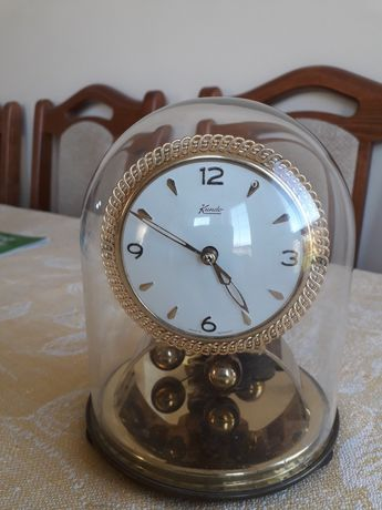 Zegar kominkowy nakręcany