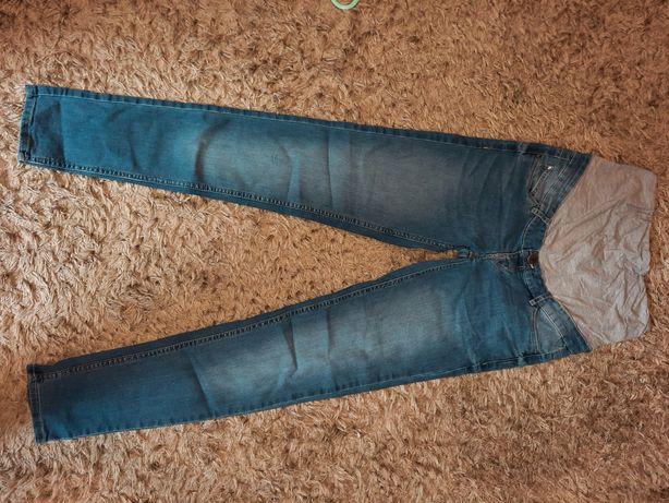Spodnie ciążowe rurki 38