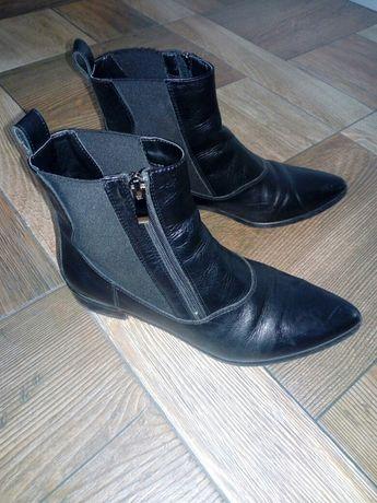 Buty damskie skora r.38