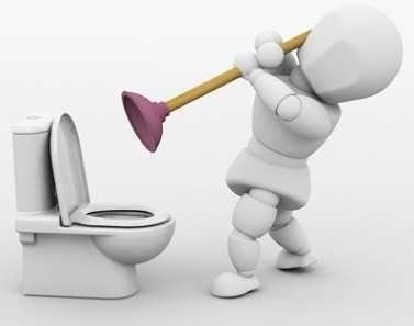 Сантехник, Чистка канализации