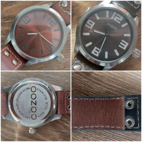 Zegarki Oozoo na skórzanym pasku