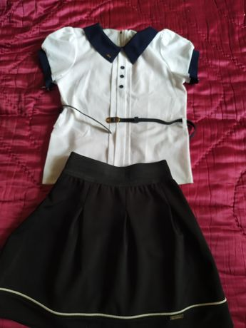 Продам юбку и блузку в школу