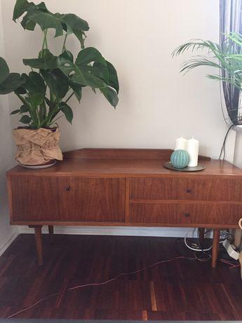 Komoda szafka drewniana retro home prl po renowacji tekowe