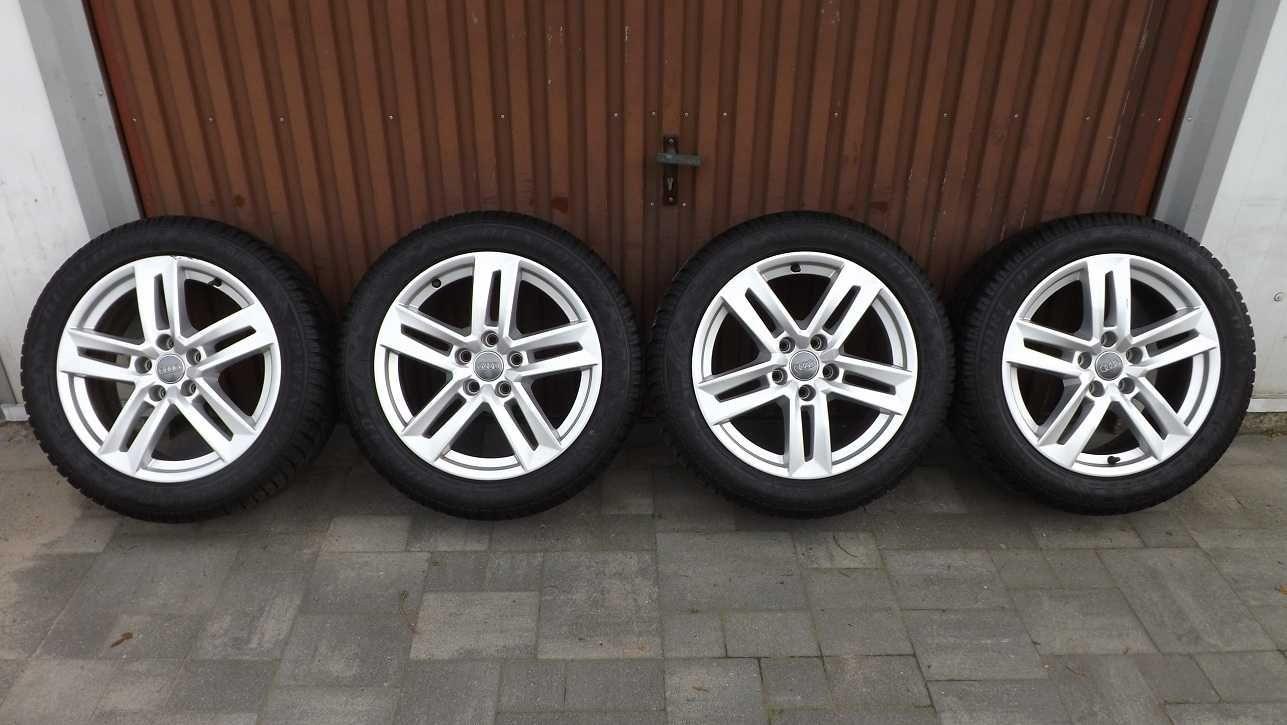 Alufelgi koła Audi A4 B9 Vw Skoda 5x112 7Jx17 ET42 8W0 225/50/17 ZIMA