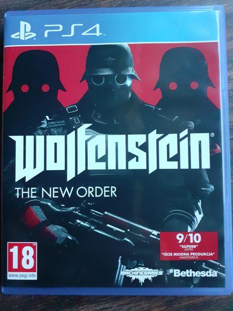 Wolfenstein The New Order gra na PS4