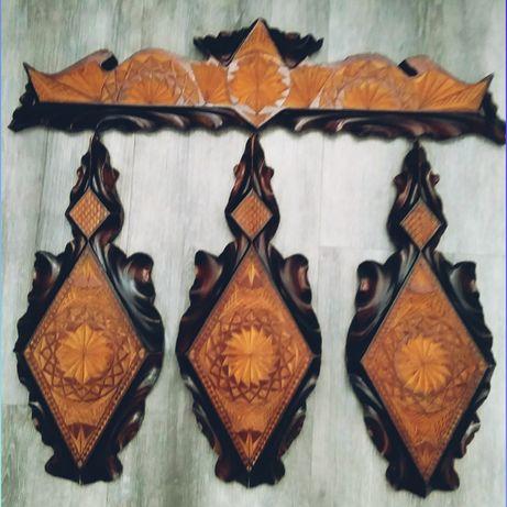 Декоративные деревянные резные дощечки