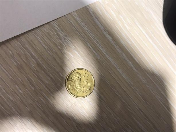 Австролийский 2 $