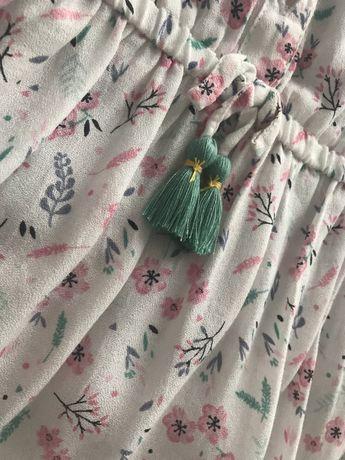 Sukienka hm jednorożec kwiatki wróżka