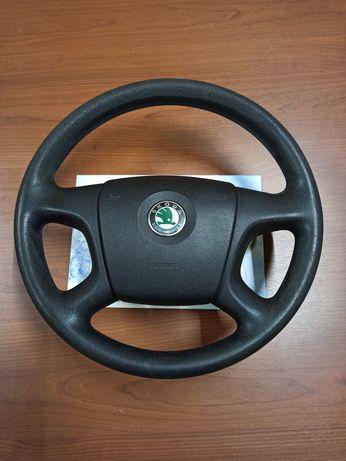 Руль Skoda Octavia A5 с airbag