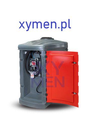 Zbiornik 1500L NOLEN na paliwo olej napędowy ropę dwupłaszczowy