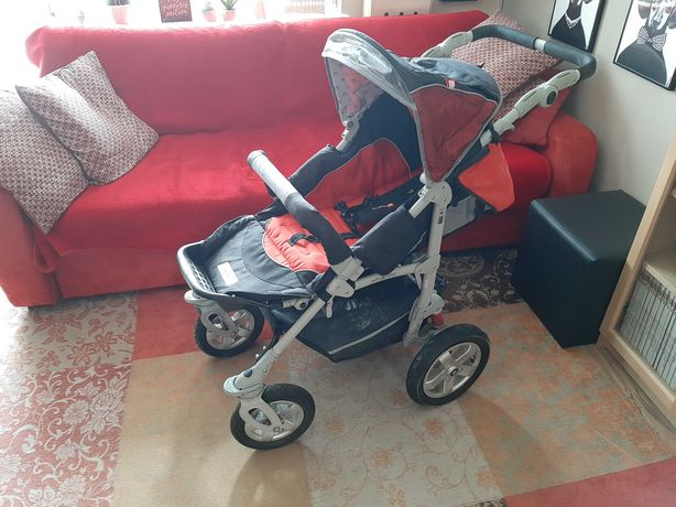 Zestaw dziecięcy: wózek, fotelik samochodowy, łóżeczko, rowerek i inne