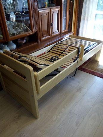 łóżko dla osoby niepełnosprawnej z regulacją elektryczną