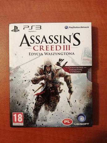 Assassin's Creed III edycja waszyngtona PS3 PL