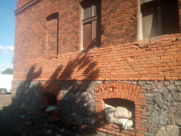 Piaskowanie, sodowanie, iniekcja rys i pęknięć betonu