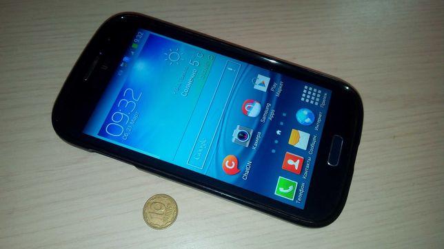 Смартфон Samsung Galaxy Grand Duos I9082(хорошее состояние+чехол)