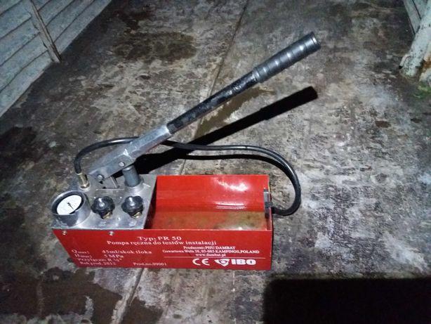 Pompa ręczna do testów ciśnieniowych instalacji IBO pr 50