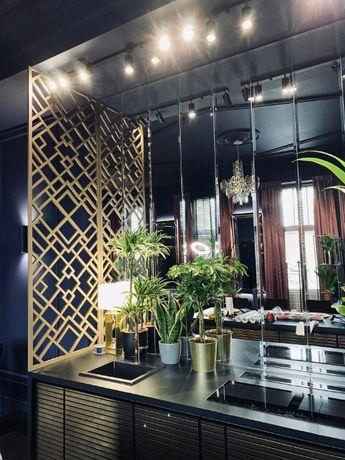 Panele ażurowe parawan tralki schody dekoracje loft design cnc