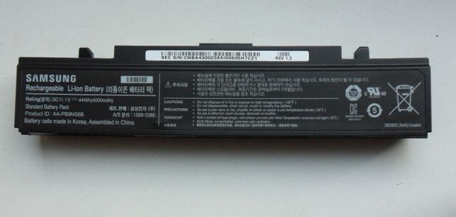 Корпус батареи ноутбука самсунг AA-PB9NS6B
