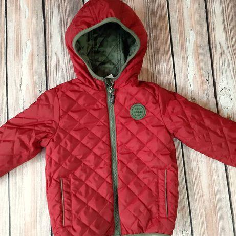 Куртка двохстороння,фірма Coccodrillo.