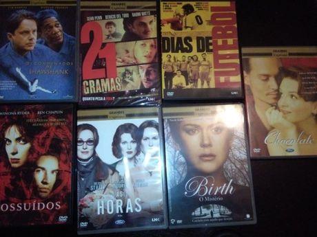 Coleçao de DVDs Filmes