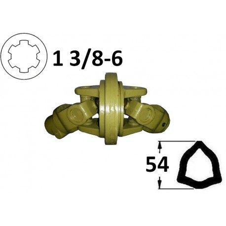 Kompletny przegub homokinetyczny na rurę 54mm