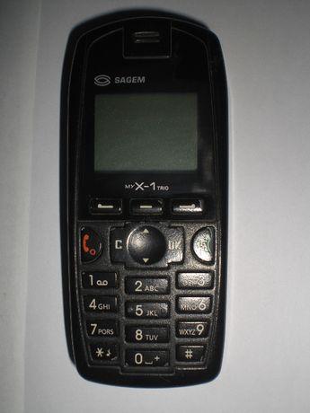 Мобільний телефон Sagem myX-1 Trio нова батарея та зарядка