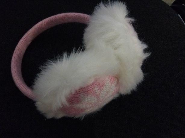 Теплі навушнички для дівчинки