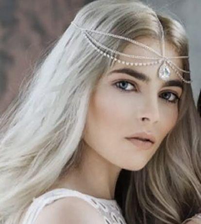 Тика,свадебное украшение на голову